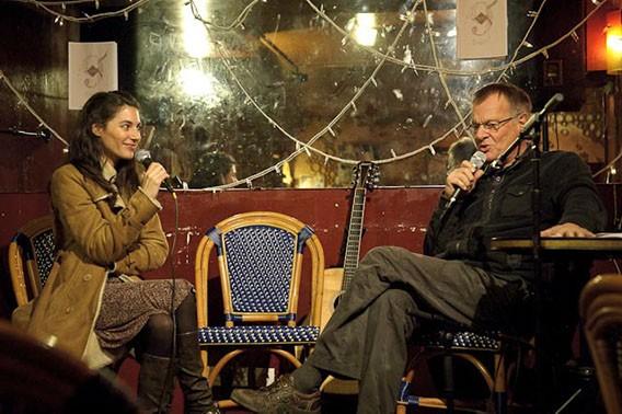 Delphine Coutant et Georges Fischer à l'Art Scène