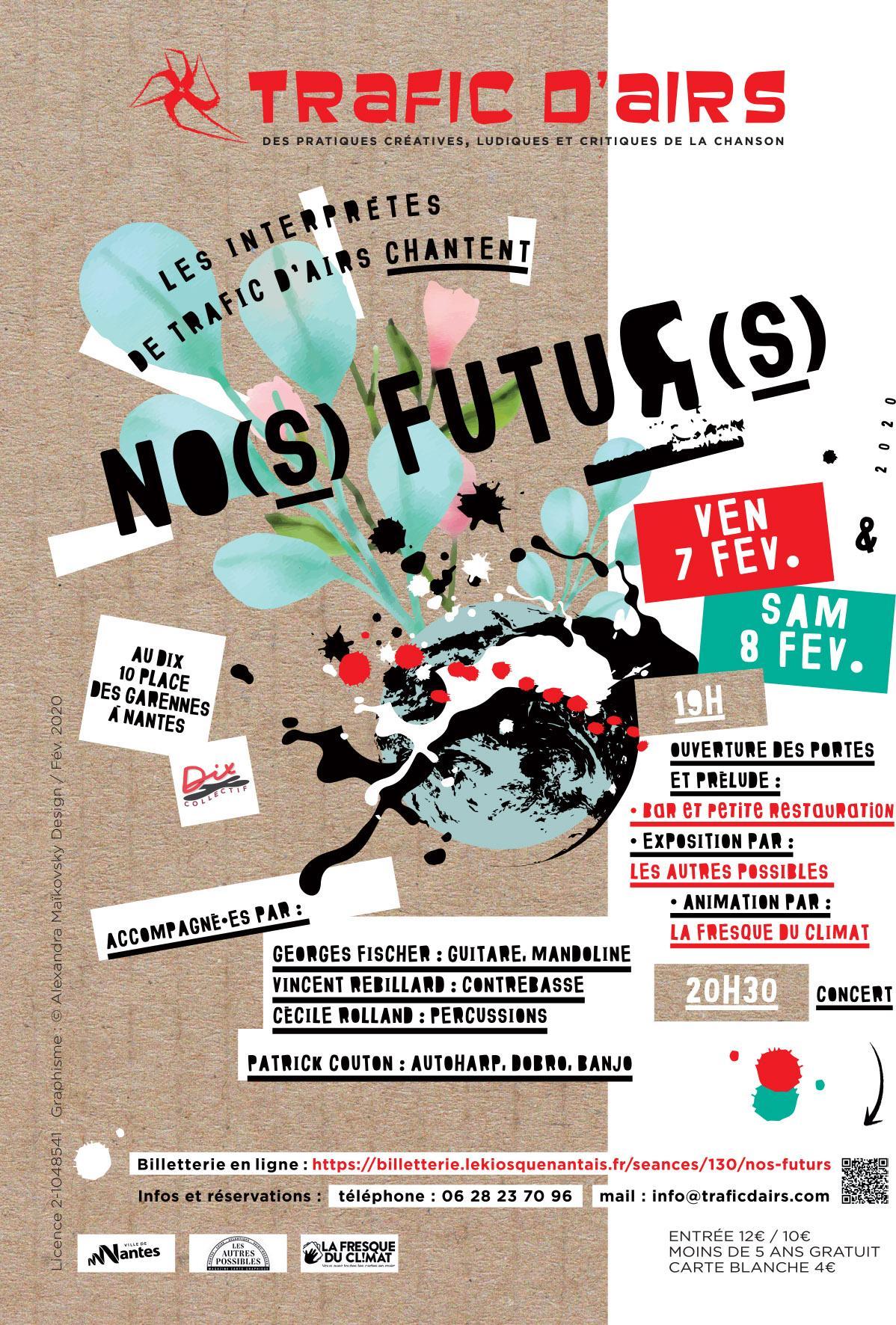 Spectacle 'No(s) futur(s)'